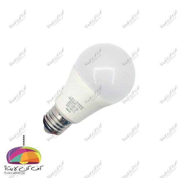 لامپ حبابی 9 وات آریو تک