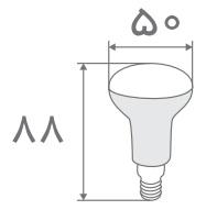 سایز لامپ جهت دار (1)