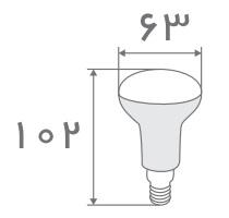 سایز لامپ جهت دار (2)