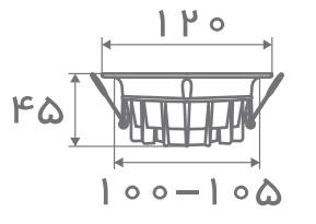 سایز پنل مدل تیتان افراتاب (2)