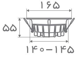 سایز پنل مدل تیتان افراتاب (3)