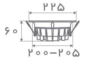 سایز پنل مدل تیتان افراتاب (4)