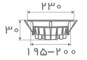 سایز پنل مدل ونوس افراتاب (1)