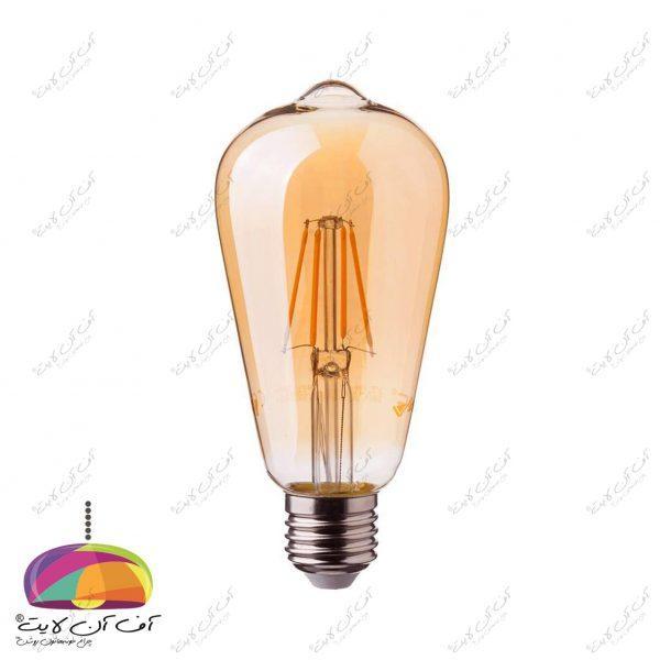 لامپ 4 وات فیلامنی ST64 افراتاب