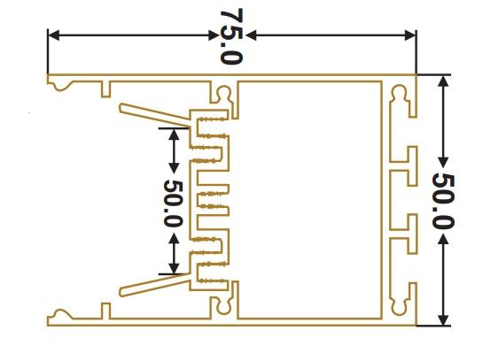 سایز چراغ خطی زمرد نور (2)