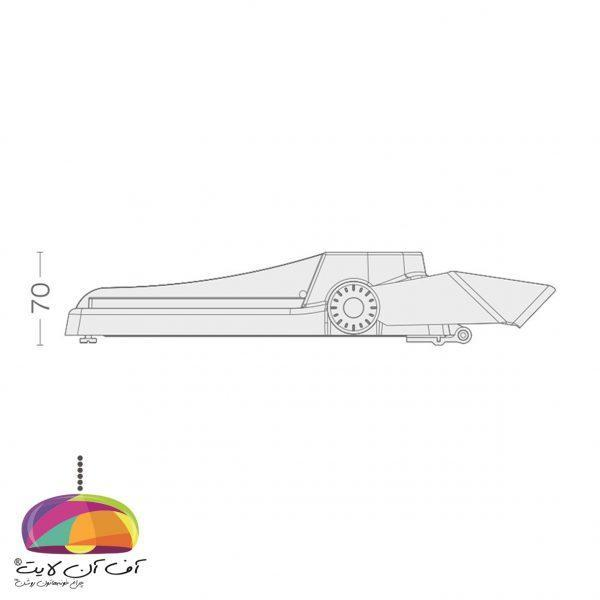 چراغ خیابانی مدل آریل 1 گلنور (3)