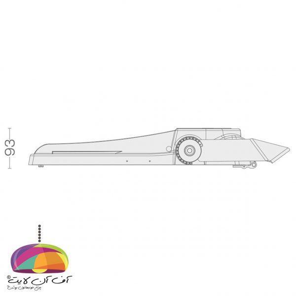چراغ خیابانی مدل آریل 4 گلنور (3)