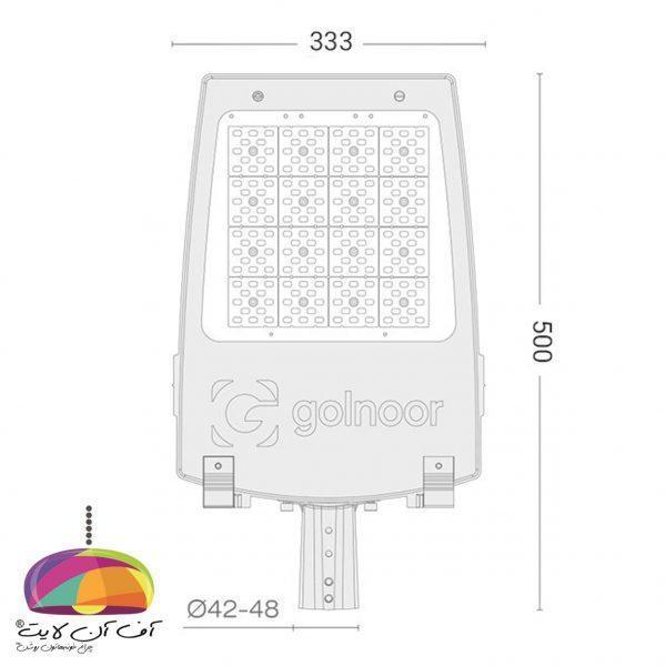چراغ خیابانی مدل سهیل2 گلنور (2)