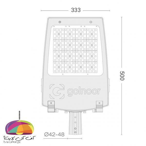 چراغ خیابانی مدل سهیل3 گلنور (2)