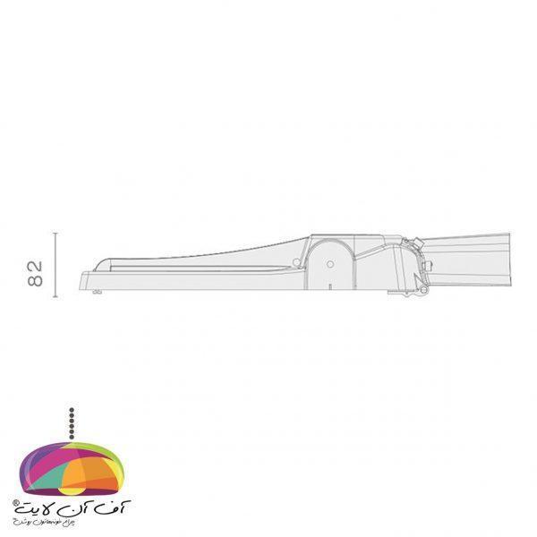 چراغ خیابانی مدل سهیل3 گلنور (3)