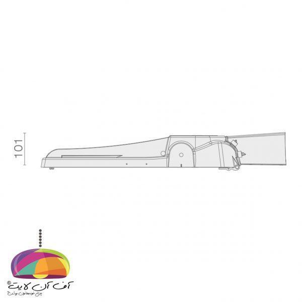 چراغ خیابانی مدل سهیل4 گلنور (3)