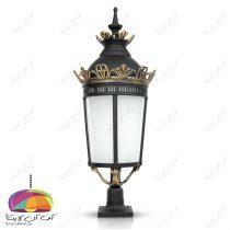 چراغ حیاطی پارکی مدل امپراطور شب تاب (1)