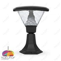 چراغ حیاطی پارکی مدل تابش ماؤول دار شب تاب (1)