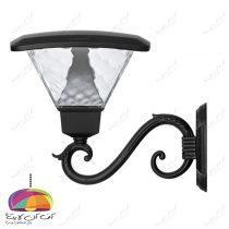 چراغ حیاطی پارکی مدل تابش ماؤول دار شب تاب (7)