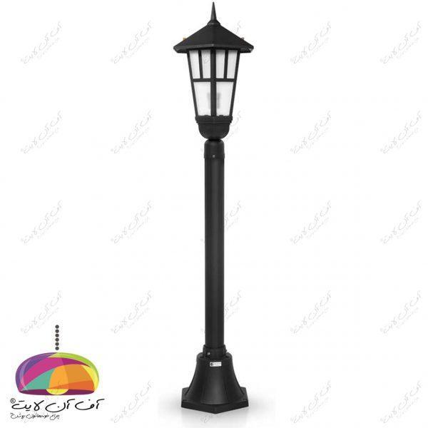 چراغ حیاطی پارکی مدل وندا شب تاب (3)