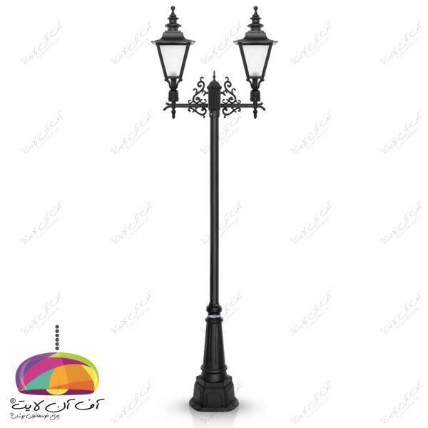 چراغ حیاطی پارکی مدل انگلیسی شب تاب (5)