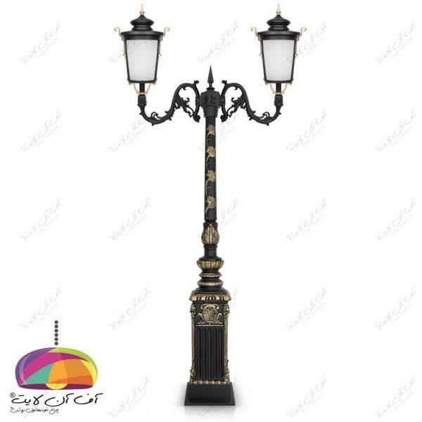 چراغ حیاطی پارکی مدل روژان شب تاب (7)